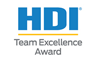 HDI Team Excellence Award