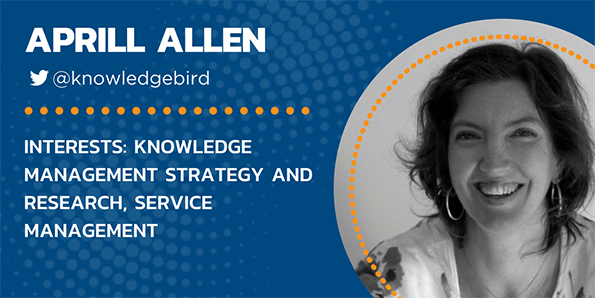 Aprill Allen, KCS, knowledge management