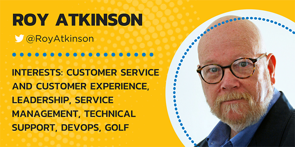 Roy Atkinson, desktop support, customer service