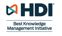 knowledge management, HDI Awards