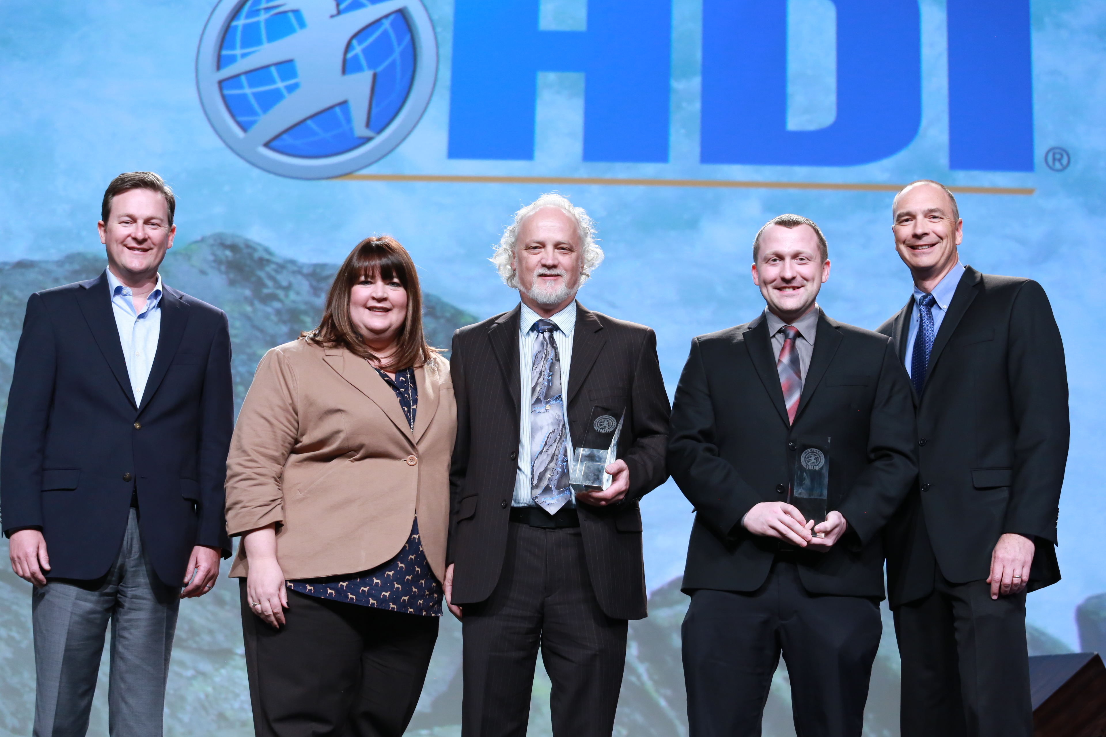 Analyst and Technician Winners at HDI 2015