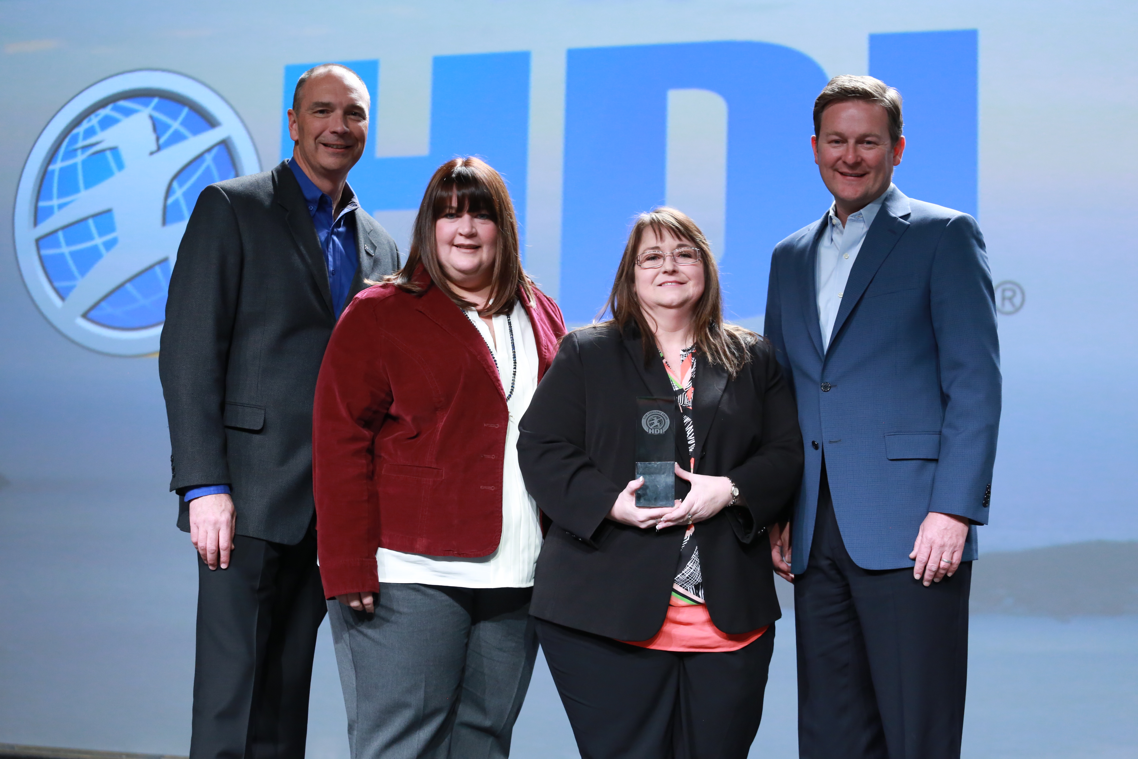 Team Excellence Winner at HDI 2015