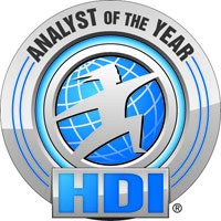 HDI Analyst of the Year