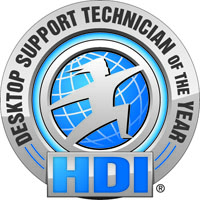 HDI Desktop Support Technician of the Year Award