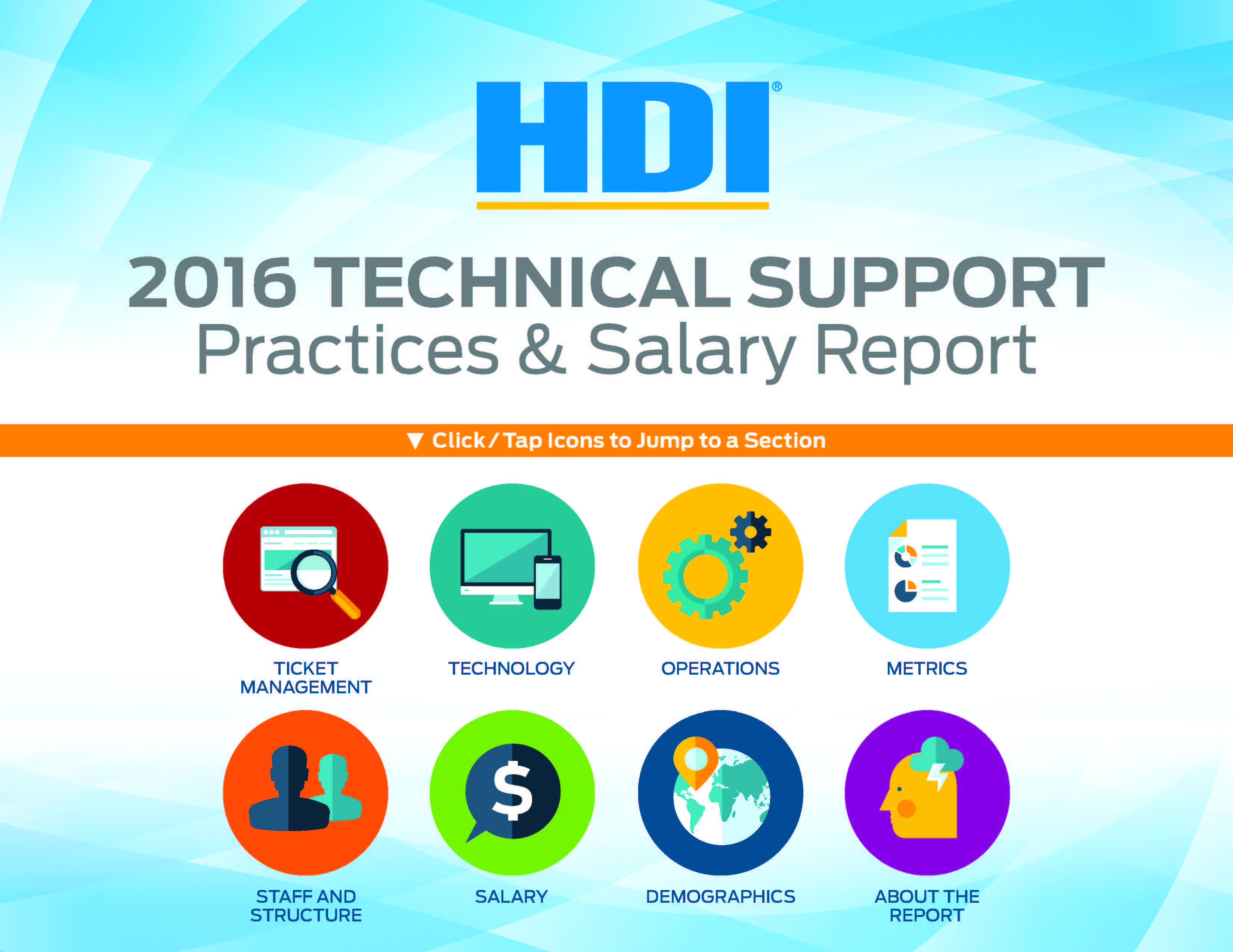 2016 Technical Support Practices & Salary Report