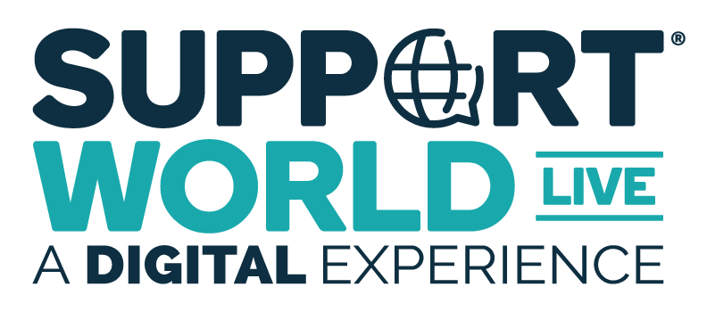 SupportWorld Live A Digital Experience Event logo