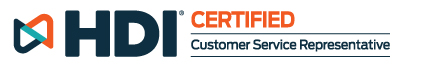 HDI Certified | Customer Service Representative