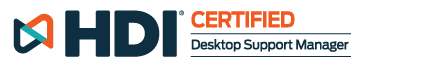 HDI Certified | Desktop Support Manager