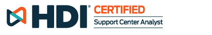 HDI Certified | Support Center Analyst