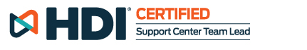 HDI Certified | Support Center Team Lead
