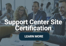 Support Center Site Certification