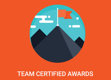 Team Certified Awards 2