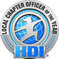 HDI Local Chapter Officer of the Year