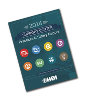 2014 Support Center Practices & Salary Report
